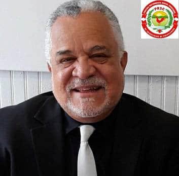 delegado del PRSC Radhamés García