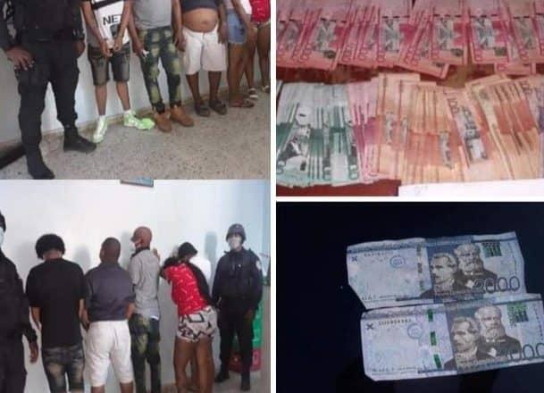 PN ocupa dinero falso en La Vega
