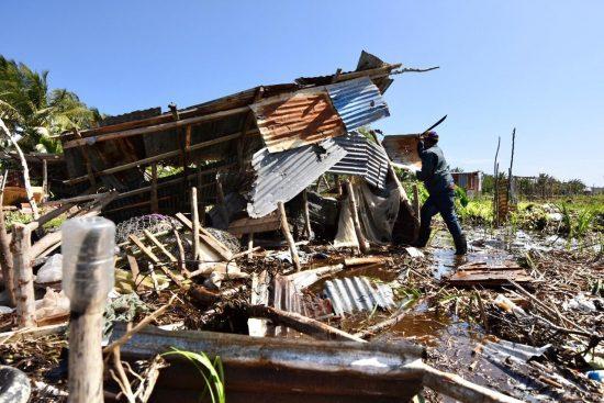 Desalojan familias en Laguna Cabarete y Goleta