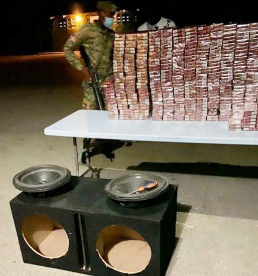 Regidor acusado de contrabando cigarrillos