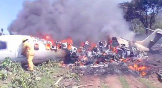accidente avión Ejército México