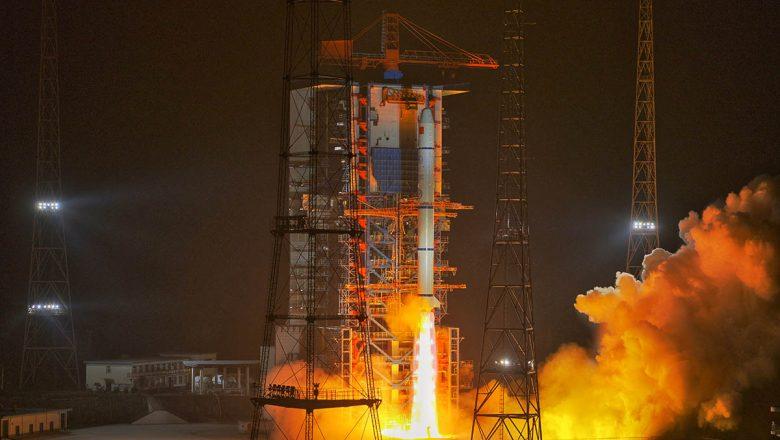¿Cuántos satélites en órbita tiene China ?