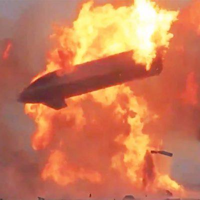Cohete de SpaceX explota tras aterrizaje