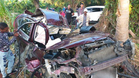Un muerto accidente en Banegas