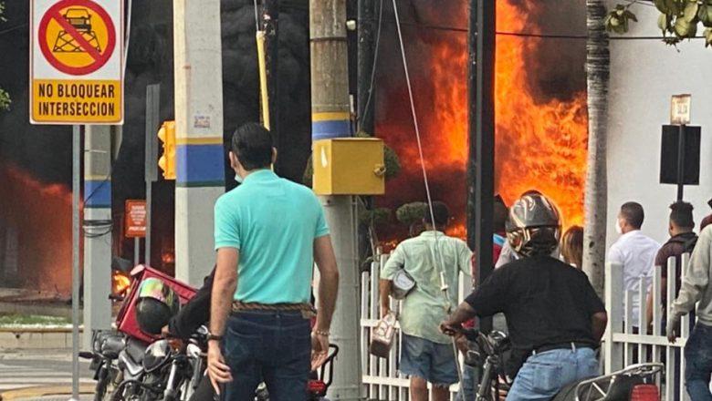 Muere joven rescatado incendio farmacia Los Hidalgos