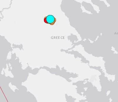 Sismo de magnitud 6,0 sacude centro de Grecia