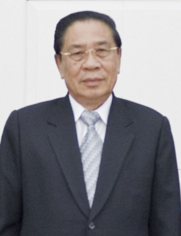 Expresidente de Laos, Choummaly Sayasone