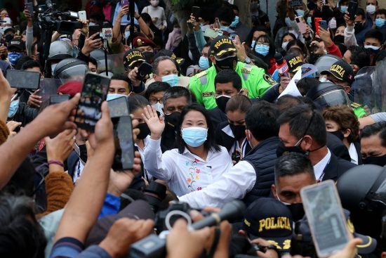 Keiko Fujimori-PERU-LIMA-ELECCIONES