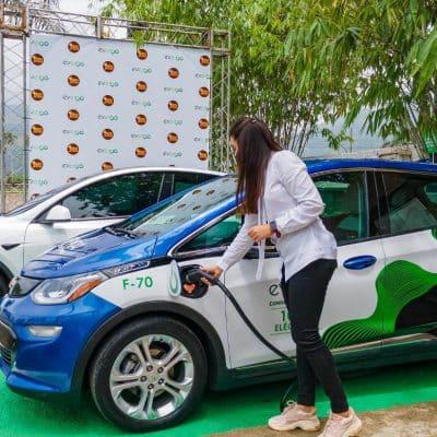 Bonao cuenta con nueva estación de carga para vehículos eléctricos