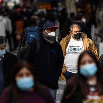 Chile lleva al 78,98% de su población objetivo vacunada
