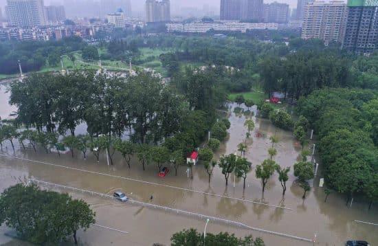 CHINA-HENAN-XINXIANG-INUNDACION
