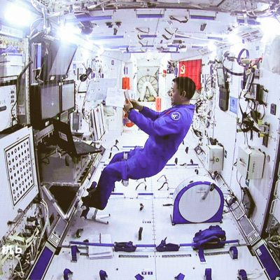 Astronautas chinos completan primeras actividades extravehiculares