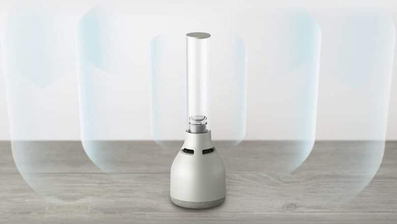 Nuevo altavoz inalámbrico sonido de cristal de Sony