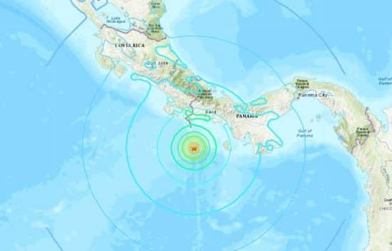 sismo costa rica y panamal