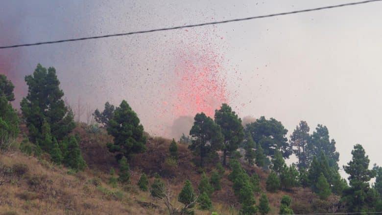 Erupción volcánica en La Palma podría durar de 24 a 84 días