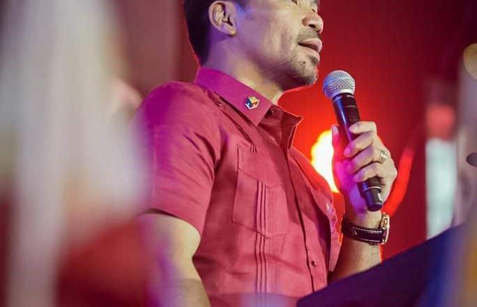 Pacquiao anuncia candidatura presidencia Filipinas
