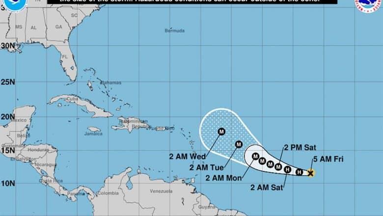 Tormenta Tropical Sam se convierte en huracán