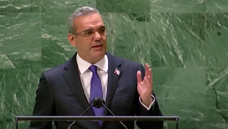 Abinader habla en la ONU sobre cambio climático y crisis Haití