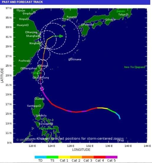 tifón Chanthu