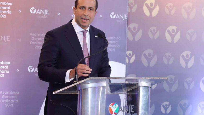 Luis Manuel Pellerano asume como presidente de ANJE