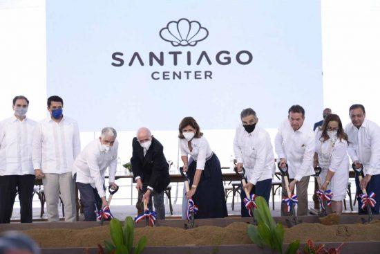 santiago center construcción